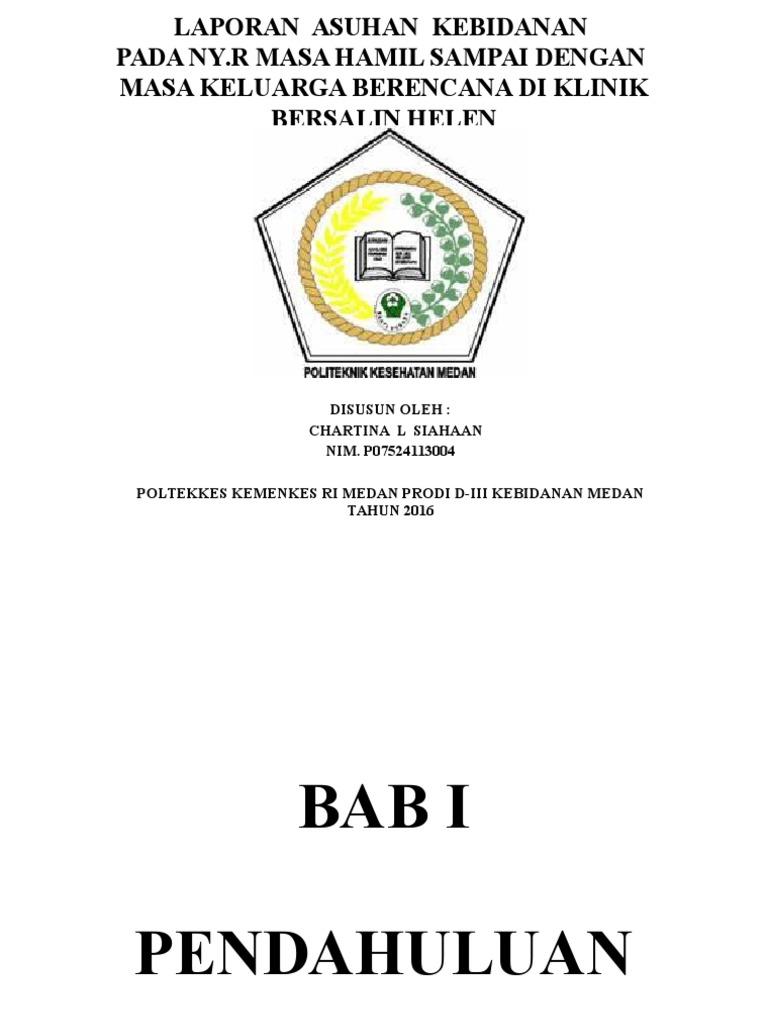 Contoh Proposal Laporan Tugas Akhir Kebidanan Kumpulan Contoh Laporan