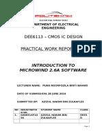 Practical Work Report 1