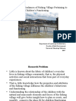 Evaluating the Affordances of Fishing Village Pertaining to Children's Functioning
