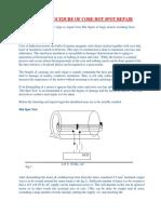 Procedure for Core Hotspot Repair