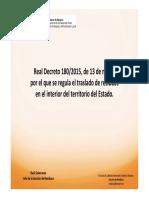 Presentacion RD 180 traslados GRNP