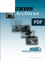 Business Archives Booklet