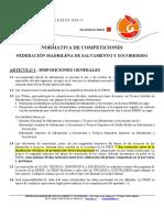 Normativa Competición 2016-17 de la FMSS