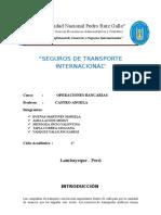 Seguros de Tranporte en El Comercio Internacional
