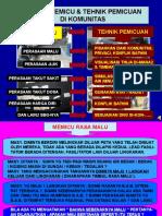 (9) Simulasi Elemen Tehnik Pemicuan Muslim