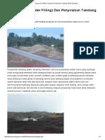 KEY MINING_ Pengisian Air (Water Filling) Dan Penyiraman Tambang (Water Spraying)