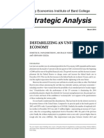 Destablizing an Unstable Economy