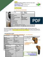 1. TDS Lagunastar Industries -Cheerman Infrared Thermometer (Scribd)