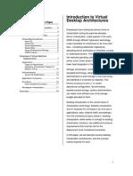 Introduction to Virtual Desktop Architectures