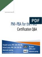 Symposium Presentation PMO 2 PBA PMO