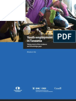 Youth Employment Tanzania Report Web-final