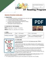 poke-a-mon reading program guidelines