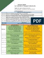 Chương Trình hội nghị khoa học Viện khoa học và kỹ thuật Vật liệu