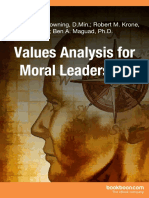Values Analysis for Moral Leadership