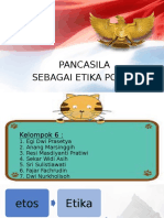 ROMBEL 31 - PEND. PANCASILA - KEL. 6 - PANCASILA SBG ETIKA POLITIK.pptx