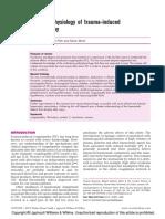 The Pathophysiology of Trauma-Induced Coagulopathy