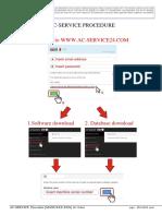 AC-SERVICE Procedure Manual Rev 8