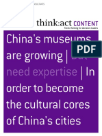 1304 Roland Berger Maximizing the Value of Chinas Museums