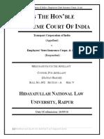 Transport Corporation of India V