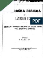 Serbska Beseda u Latinskom Pismu