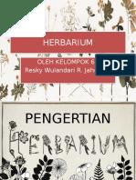 Botani Herbarium