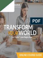 Digital Marketing Course Guide APR 2016