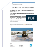 Sea salts of Infosa