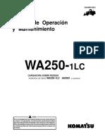Manual de Operación y Mantención WA 250 - 1LC.pdf