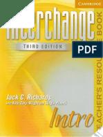 Interchange 3rd Ed. Intro Teacher Resource Book