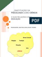 A Constituição Da Psicologia Como Ciência e Suas (2)