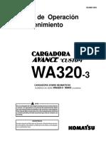 Manual de Operación y Mantención WA 320 - 3.pdf
