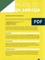 DIZAJN _ Uslovi za prijem u Sekciju + Delatnost 2015