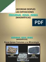 12 Variedad Rocas Igneas Magmaticas Principales VI