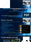 6-Mastering Python Lesson 6 Functions Parameters Arguments