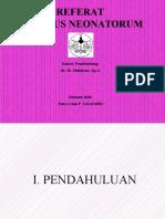 Referat Tetanus Neonatorum