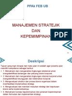 manajemen strategi chapter 1