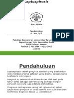 Referat Leptospirosis - Julia