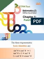 Maths(T) 1T2E Chap1
