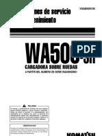 Manual de Operación y Mantención WA 500 - 3.pdf
