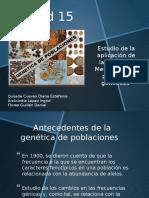 Exposición- Genética de Poblaciones