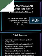 Interna - Lipid Management