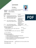 20-Dr. M. Hamid Rashid Profile (NIBGE Web Site)