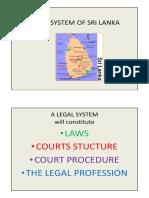 Legal System of Sri Lanka 2015