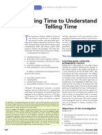 Taking Time to Understand Time