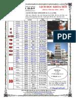 THANG 10 -2016 - DOT 4 - KHỐI 10,11,12 NAM 2016
