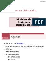 Modelos de sistemas distribuidos