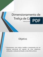 Apresentação - Dimensionamento de Treliça de Cobertura (1)
