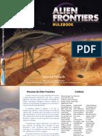 Alien Frontiers - Manual