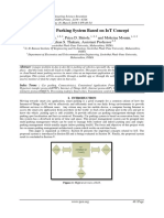 Smart Car Parking System Based on IoT Concept