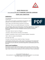 Race2Prague Terms and Conditions